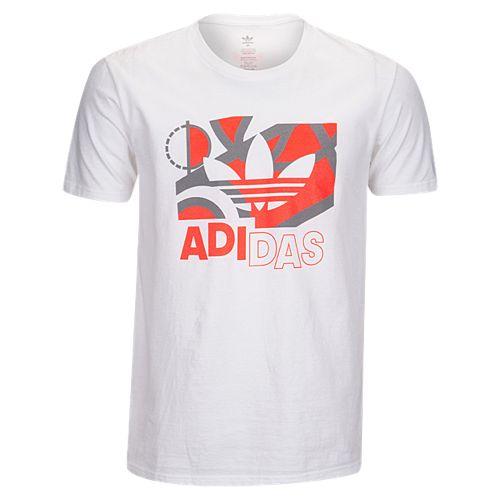 adidas originals fruit graphic t shirt