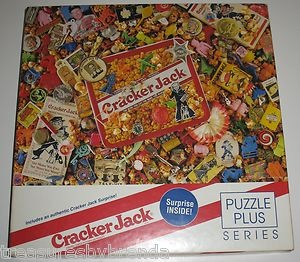 Remember Cracker Jacks? This Hallmark and Springbok jigsaw puzzle celebrates the famous caramel popcorn treat and even comes with a surprise. #crackerjack #springbok #puzzle