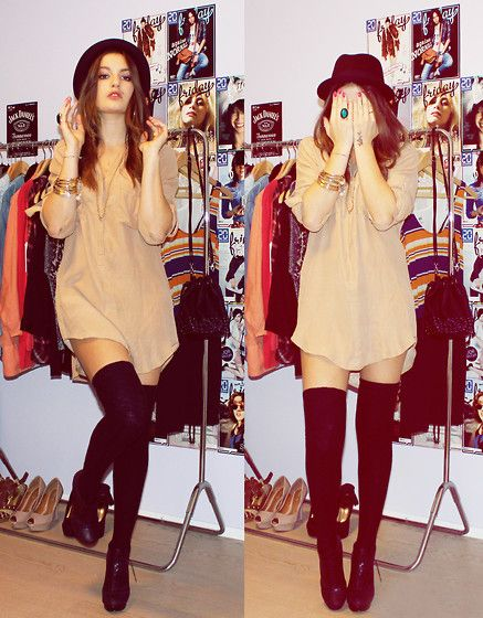 knee highs dress cute love fashion clothes me girl boy print like hat food hipster hipstergirl tumblrgirl cats shoes heels shirt shorts summer winter hoodies sweaters makeup eyes nails jewerly