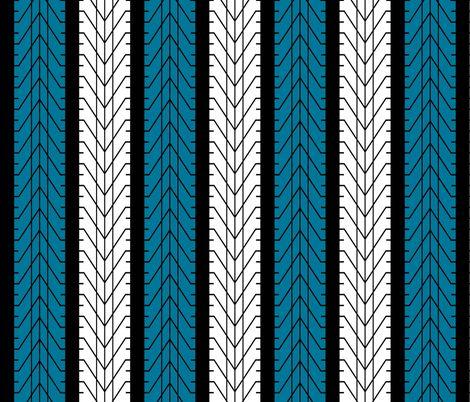 Bike Tread Nearly Chevron! fabric by shelleymade on Spoonflower - custom fabric