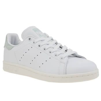 Adidas White & Green Stan Smith Country Pack Womens Trainers