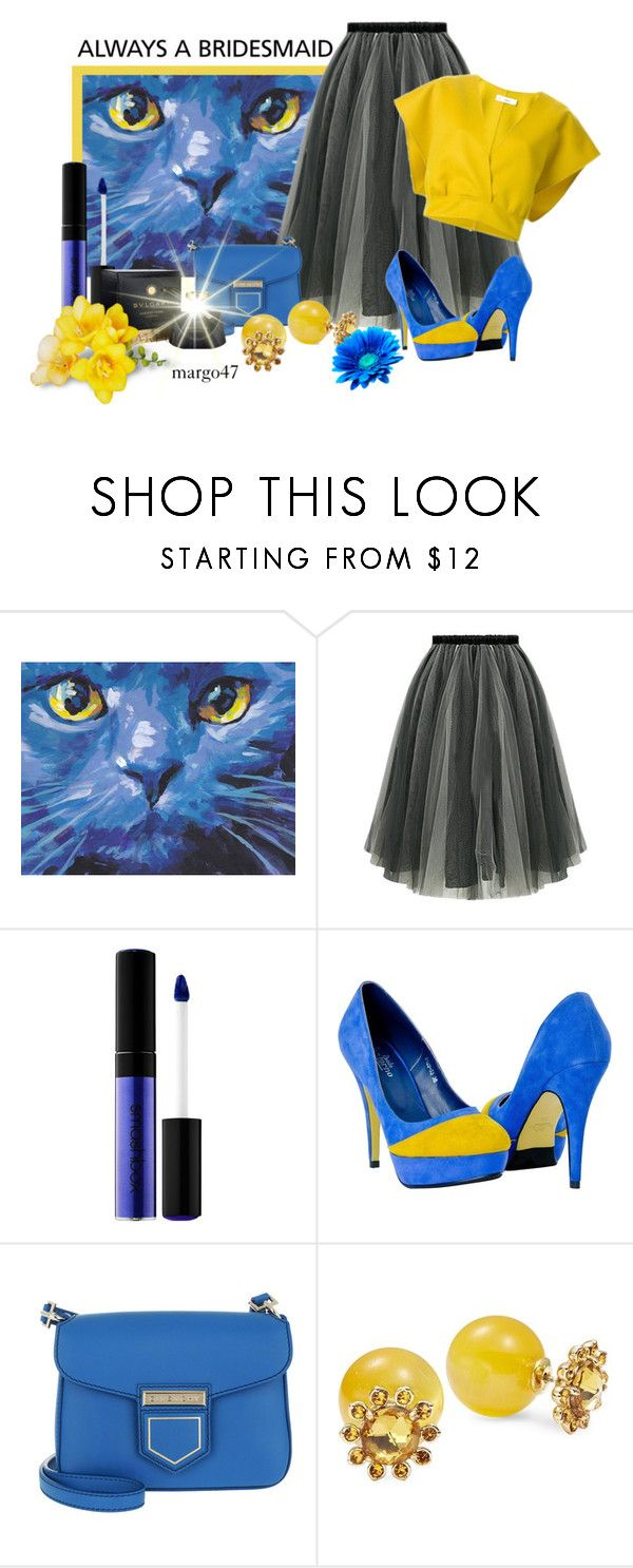 """""""kocie oczy"""" by margo47 ❤ liked on Polyvore featuring Jil Sander, Smashbox, Givenchy and Kate Spade"""