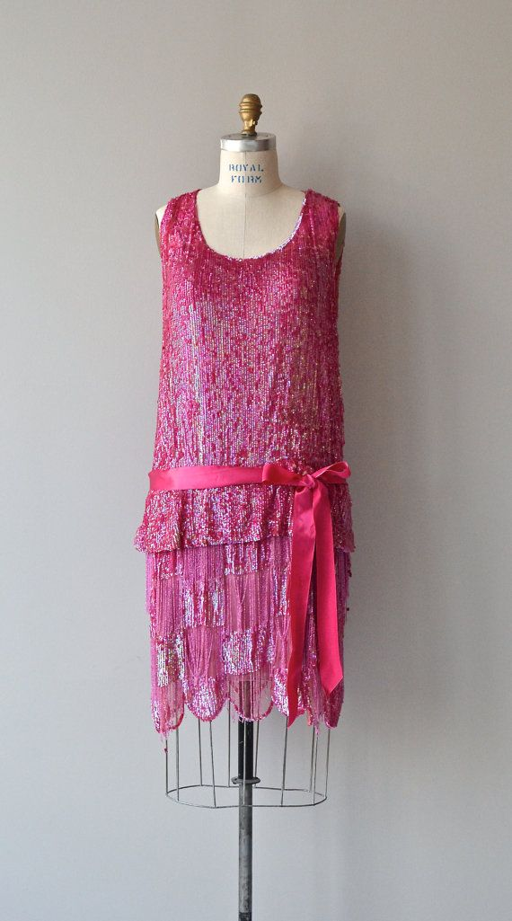 Bright Young Thing dress vintage 1920s dress 20s by DearGolden