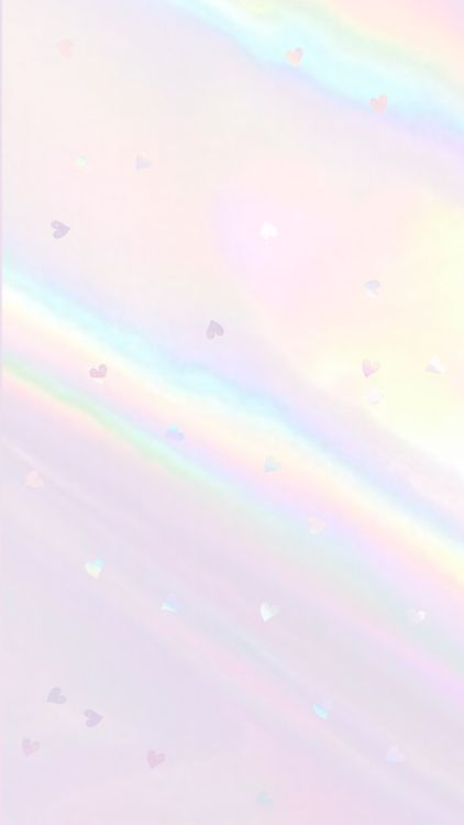 Pastel rainbow iPhone wallpaper