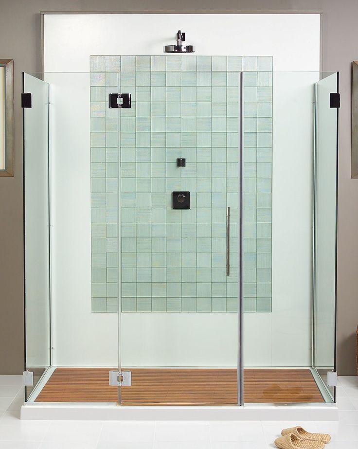 Elegant Teak Shower Floor