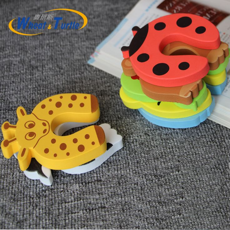 3Pcs/Lot Cartoon Animal Jammer Baby Kid Children Safety Care Protection Silicone Gates Doorways Decorative Magnetic Door Stopper