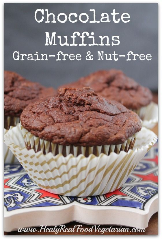 Coconut Flour Chocolate Muffin Recipe - Healy Real Food Vegetarian change coconut sugar to honey