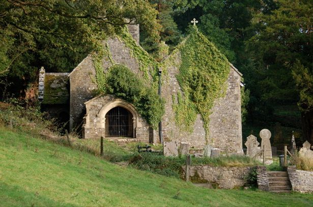 Llandyfeisant Church, Llandeilo. One of Wales' most peaceful churches, Llandyfeisant can only be reached across fields or up a private dirt track. The site dates back to pre-Christian times and it has not been used for services since 1961.