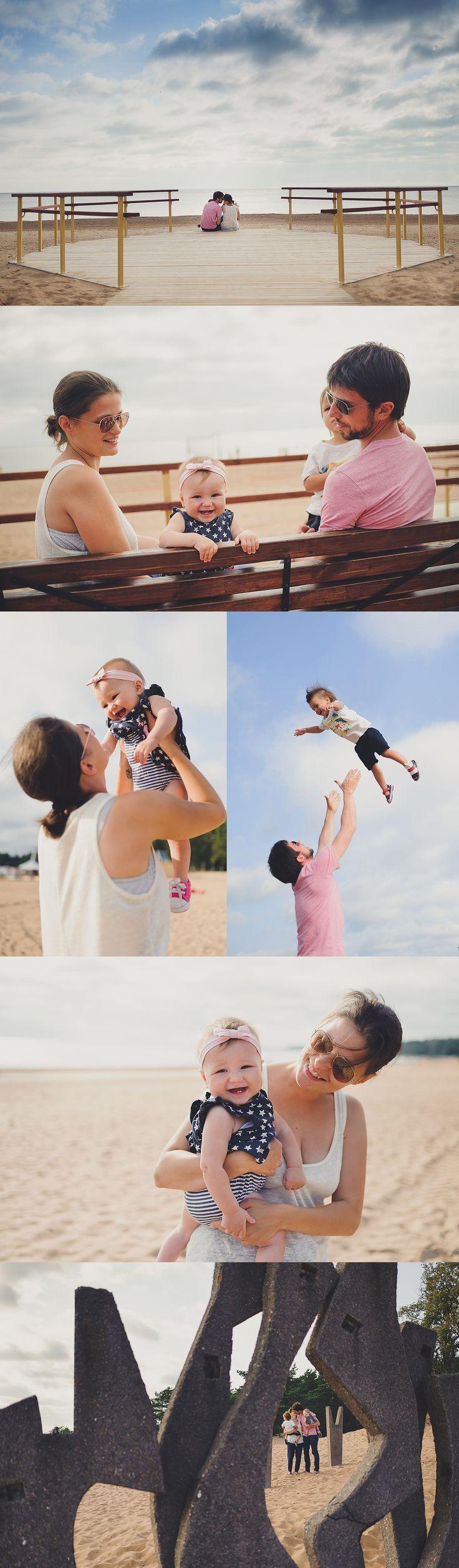 "Day on the Bay (family walk on the beach) / Серия ""День на заливе"" (семейная прогулка по пляжу)"