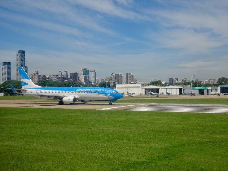 Aeroparque domestic airport, Buenos Aires