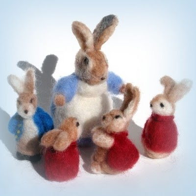Peter Rabbit Felting - just absolutely love this!!!