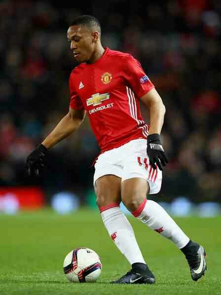 Anthony Martial of Man Utd in 2016.