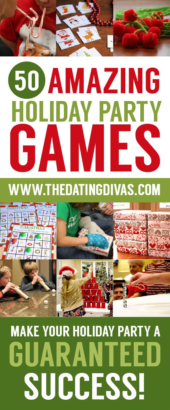 These Christmas games are perfect!