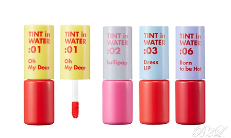 [ARITAUM] Tint in Water 9g  8 colors / High-pigment color and Burst of moisture  #ARITAUM