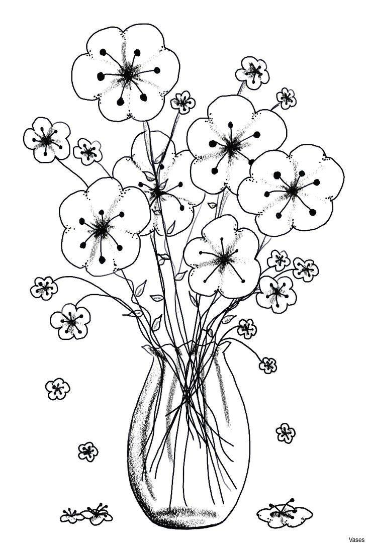 Coloring Pages Of Roses Beautiful Drawing Flowers In A Vase Cool Vases Flower Vase Printable Flower Coloring Pages Flower Coloring Pages Spring Coloring Pages