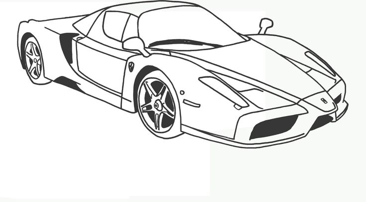 Ferrari F1 Da Colorare Disegni Da Colorare