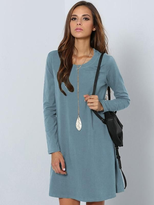 7eae73f0f Fit and Flare Tee Dress in 2019