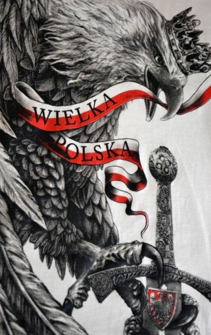 Motyw patriotyczny na koszulce 'Wielka Polska' HD ---> Streetwear shop: odzież uliczna, kibicowska i patriotyczna / Przepnij Pina!