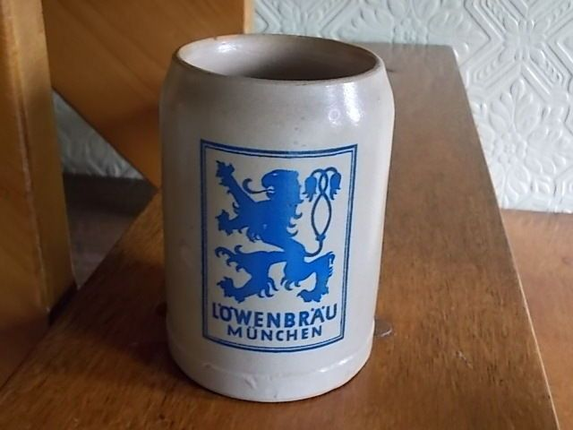 BIDS FROM £6.99..(almost up)..German Ceramic Tankard from the German Beer Festival 1960 s