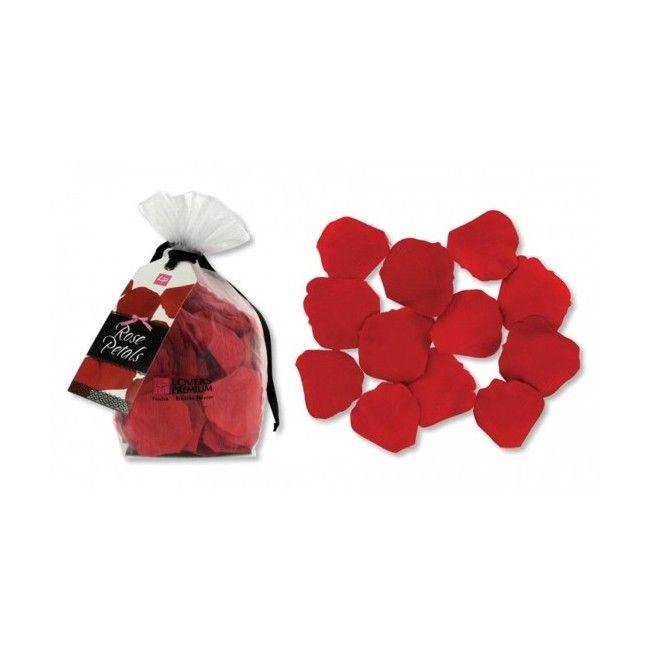 LOVERSPREMIUM ROSE PETALS RED Sorprende a tu pareja, esparciendo unos pétalos de rosa en el dormitorio o en el cuarto de baño. Dispersa los pétalos de forma abundante sobre una localización romántica, o crea una trayectoria de pétalos para marcar el camino hasta el amor. Enseña tus armas de seducción. Contiene 170 pétalos.