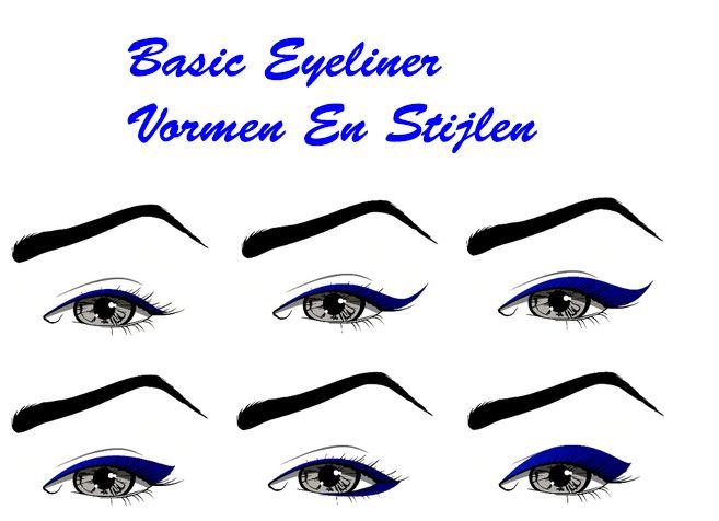 Eyeliner: Verschillende Stijlen en Vormen – Stylixx