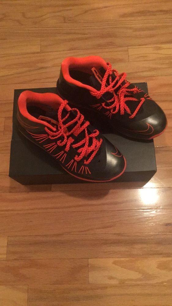 Nike Air Max Lebron X 10 Low Orange Black men s size 8  fashion ... 3a45d7c540b