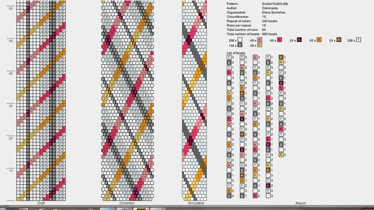 Schemes for thick bead bundles. Discussion on LiveInternet - Russian Service Online Diaries