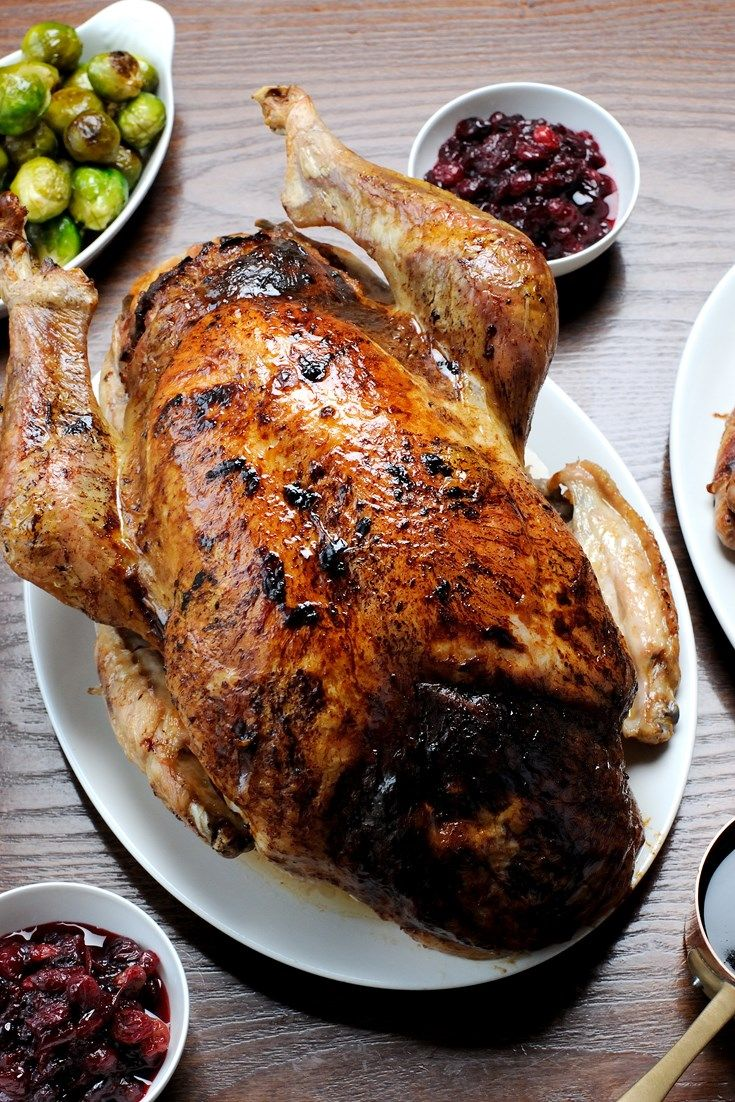 Along with Dominic Chapman's deliciously moist roast turkey recipe, the apricot stuffing, cranberry sauce and other sides add to a fabulously festive dinner