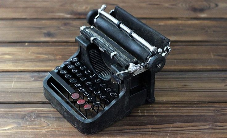 Lux Vintage Typewriter Home Decor For Sale
