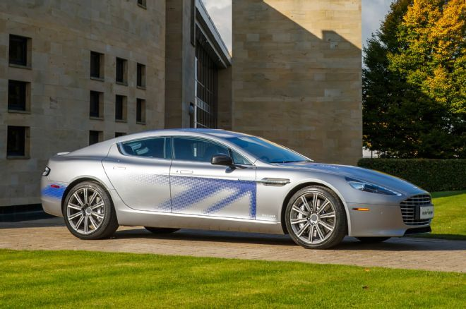 AllElectric Aston Martin RapidE Slated for 2018. Joint