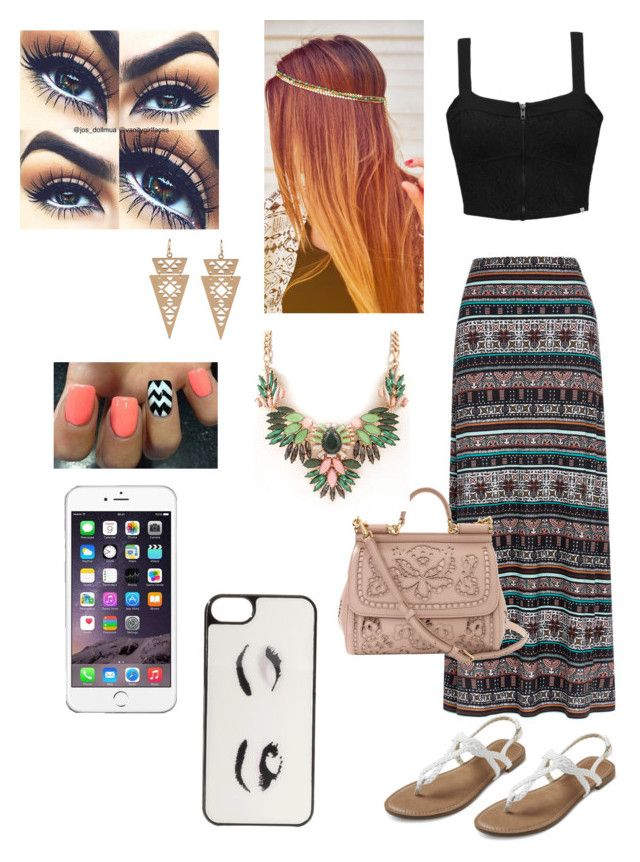 Untitled #6 by tadevicha on Polyvore featuring polyvore, fashion, style, Element, Monsoon, Dolce&Gabbana, I-Sosceles You and Kate Spade