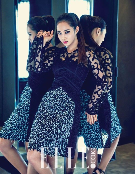 Girls' Generation's Yuri drops her sweet image for a fierce look in 'Elle' | allkpop.com