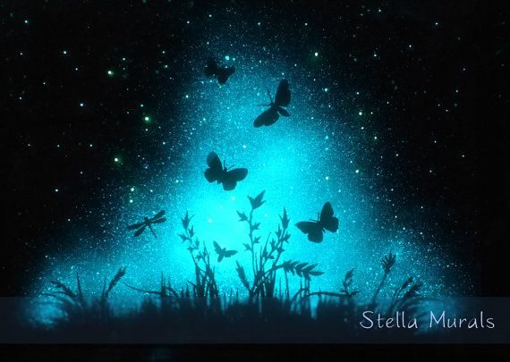 Glow In The Dark Wall Murals 32 best glow in the dark paintings images on pinterest | dark