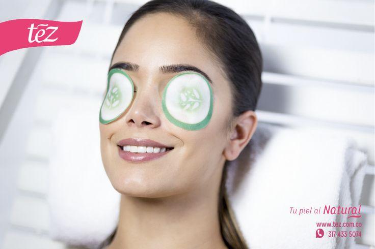 PAÑOS RELAJANTES DE PEPINO CON VITAMINA E  Permite lucir tus ojos descansados y frescos. Reduce ojeras, bolsas, cansancio y  stress.   Proporciona una sensación calmante.  Nutre e hidrata la piel naturalmente, devuelve vitalidad y lozanía.