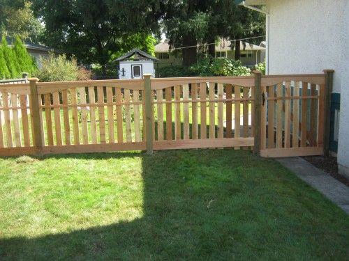 Dog fencing ideas jefffencingbccom yard designs and for Outside dog fence ideas