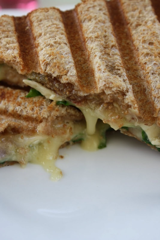fig brie panini pleaser paninis brie lunch recipes figs sandwiches ...
