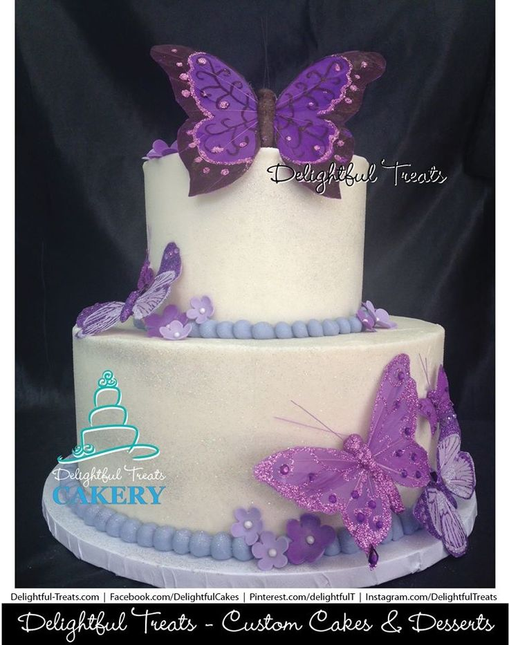 Perfect Butterfly Cake. Butterfly CakesButterfliesBaby Shower ...