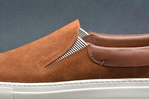 Phoenician Sandal (brown) Slip-On