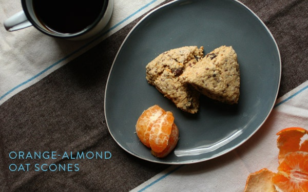Orange-almond oat scones | Bien Manger | Pinterest