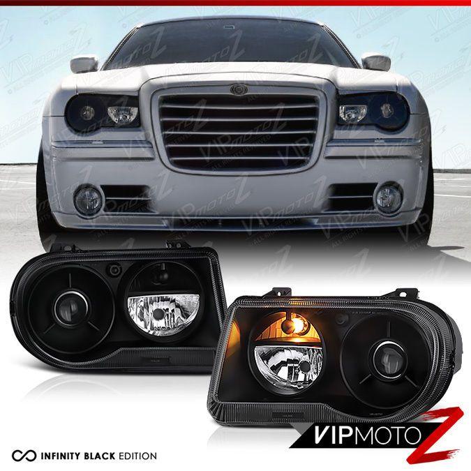 2005-2010 Chrysler 300C SRT8 Limited Lujo Black Front
