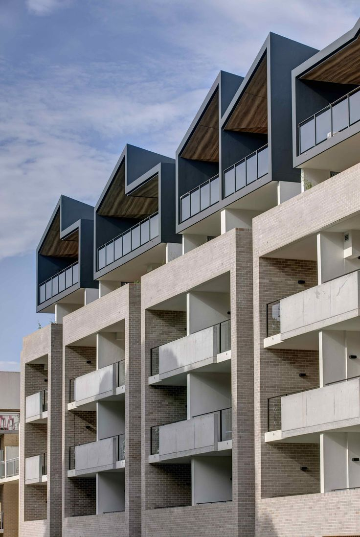 Completed in 2017 in Waterloo, Australia. Images by Brett Boardman. . Fox Johnston's newest completed multi residential project, Wellington on the Park, Waterloo, designed for Barua Group, includes many hallmarks of the...