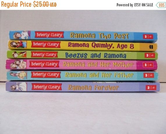 32 best beezus and ramona images on pinterest beverly cleary on sale beverly cleary books beezus and ramona set of 5 books ramona fandeluxe Gallery