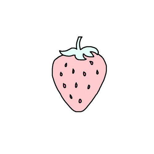 Tumblr transparent - strawberry