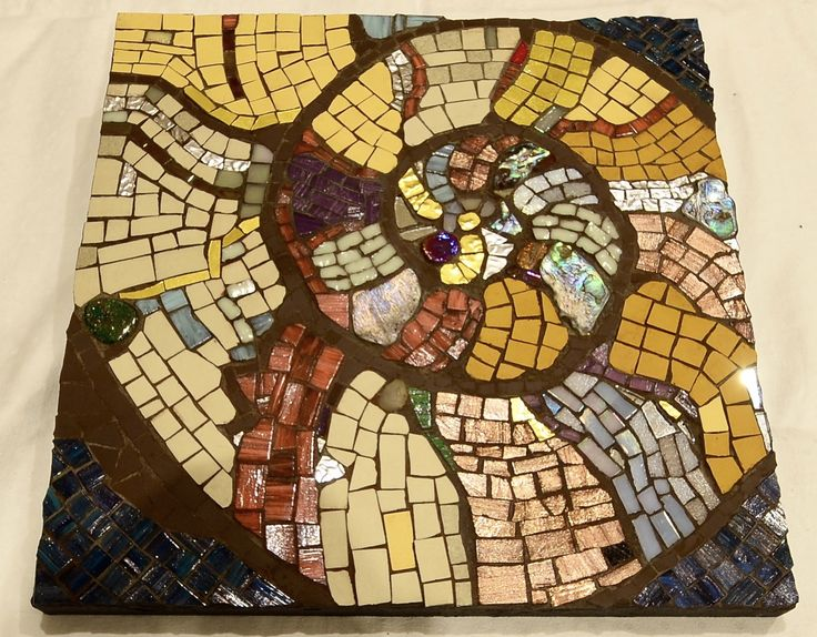 #Mosaics Ancient Ammonite