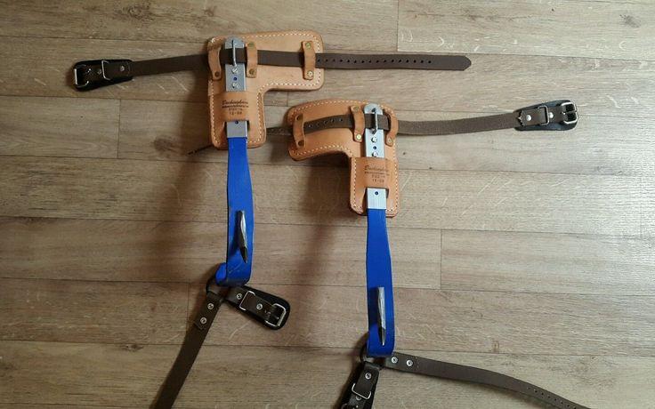 Tree climbing spikes /tree surgeon spikes/gaffs / buckingham in Garden & Patio, Garden Power Tools & Equipment, Chainsaw Parts & Accessories | eBay