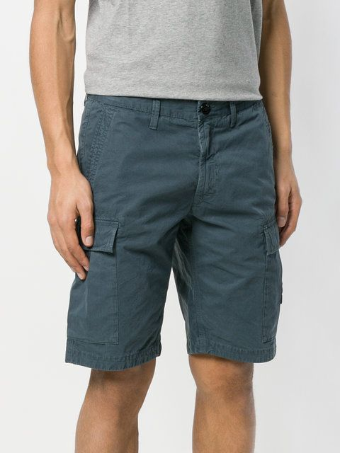 Stone Island classic fitted shorts