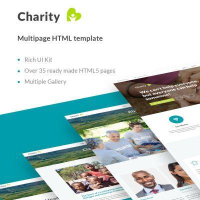 Charity. Reszponzív Weboldal Sablon