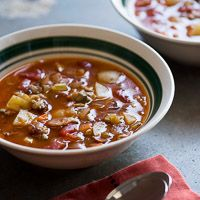 Manhattan clam chowder- another to try as a fish chowder