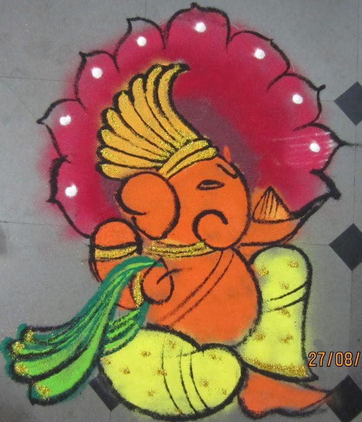 Best Diwali Rangoli Designs 2015