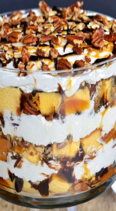 turtle cheesecake trifle turtle cheesecake truffle turtle cheesecake ...